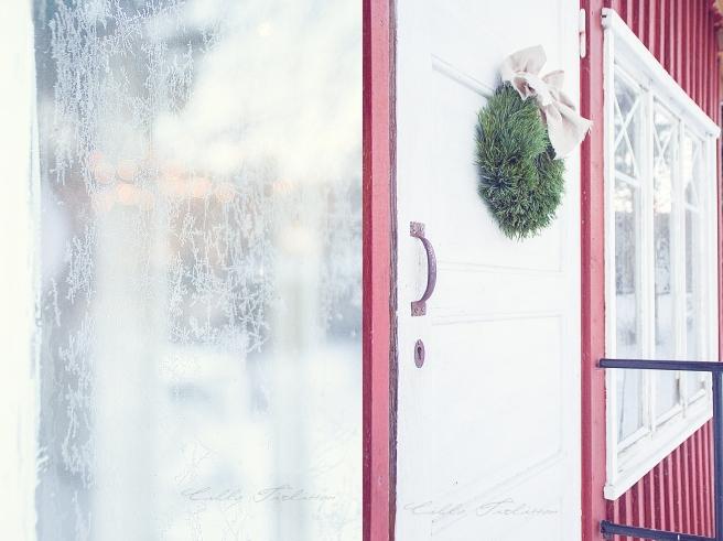 lasikuisti-huurre-ikkunassa